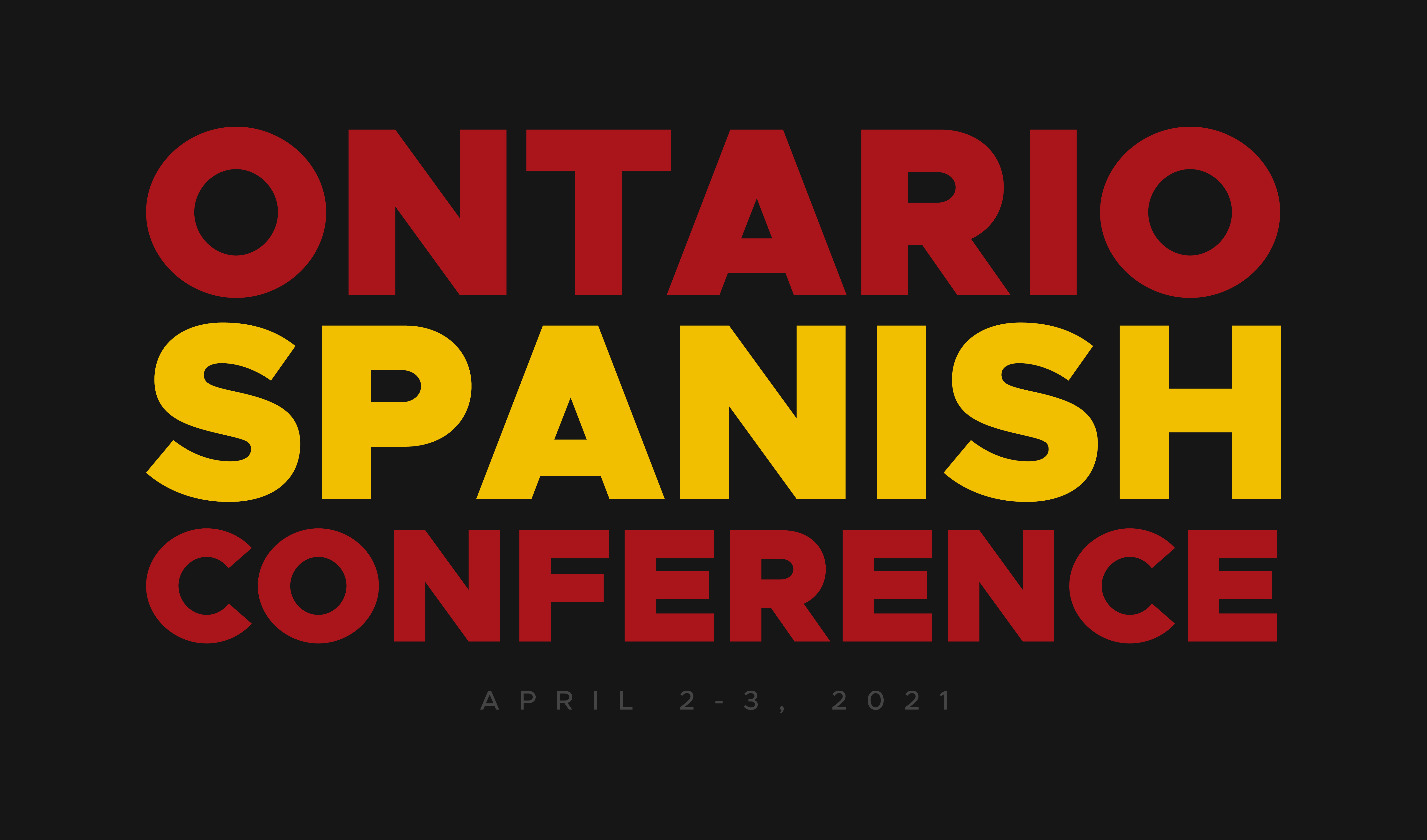 Ontario Spanish Conference 2021
