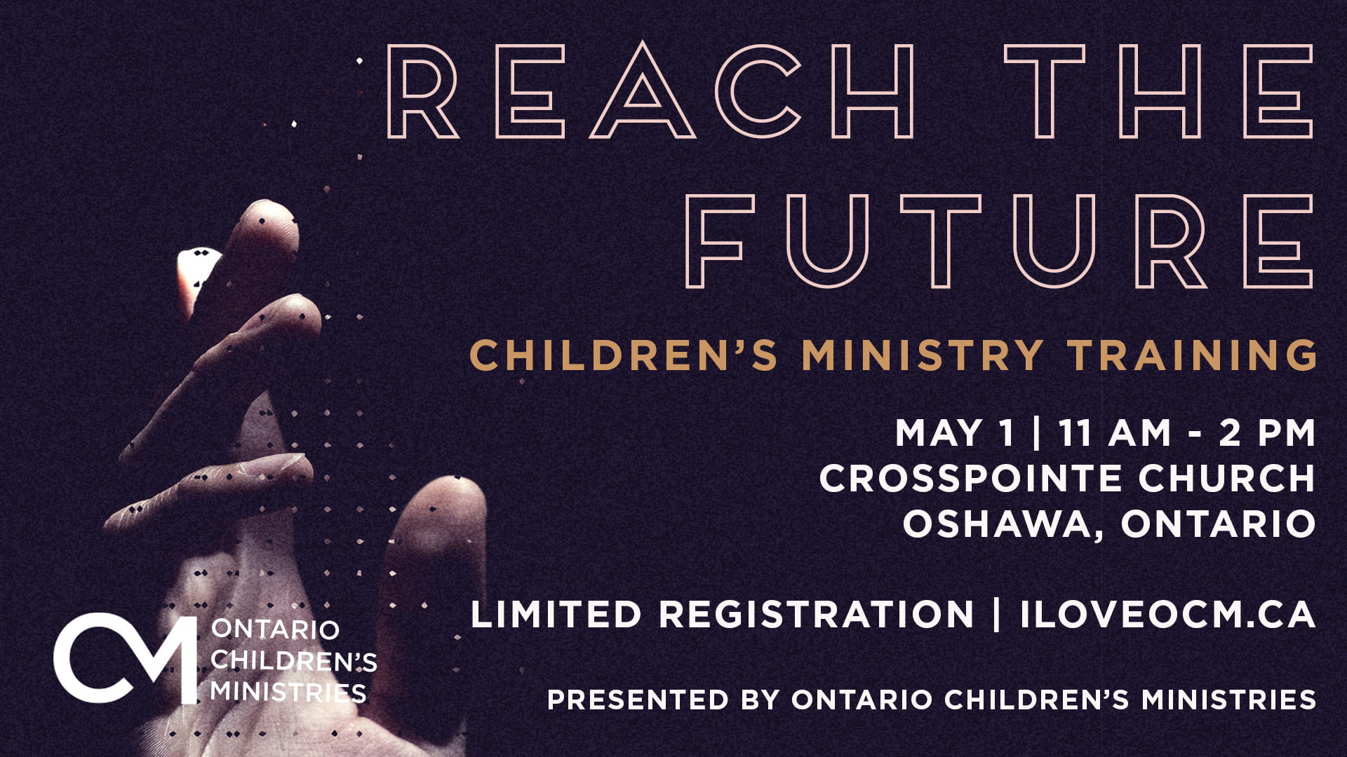 Ontario Childrens Ministry Training Poster